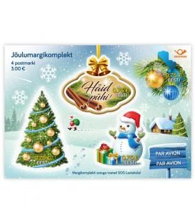 Kaneelilõhnalised jõulumargid (4 tk)