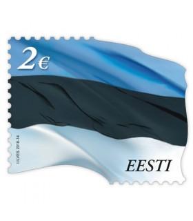 Standardmark. Lipumark 2,00 €. Kordustrükk