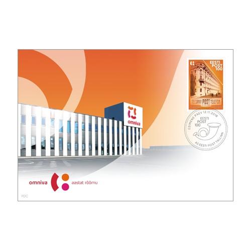 0a9c4032009 Eesti Post 100 - FDC