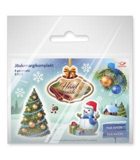 Kaneelilõhnalised jõulumargid (4 tk) kiles