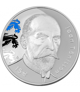 15€ 150th anniversary of the birth of Jaan Tõnisson