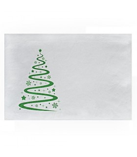 Lõõtsaga jõuluümbrik kleepribaga