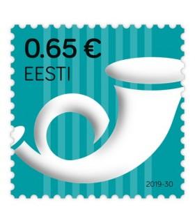 Standardmark. Postipasun 0,65 €. Kordustrükk